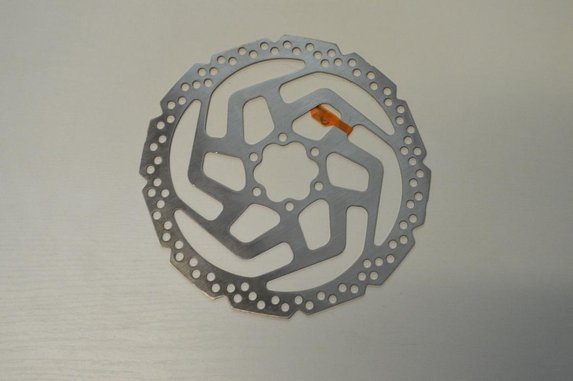 Ротор диск.тормоза 6 болт 180мм. Shimano RT-26