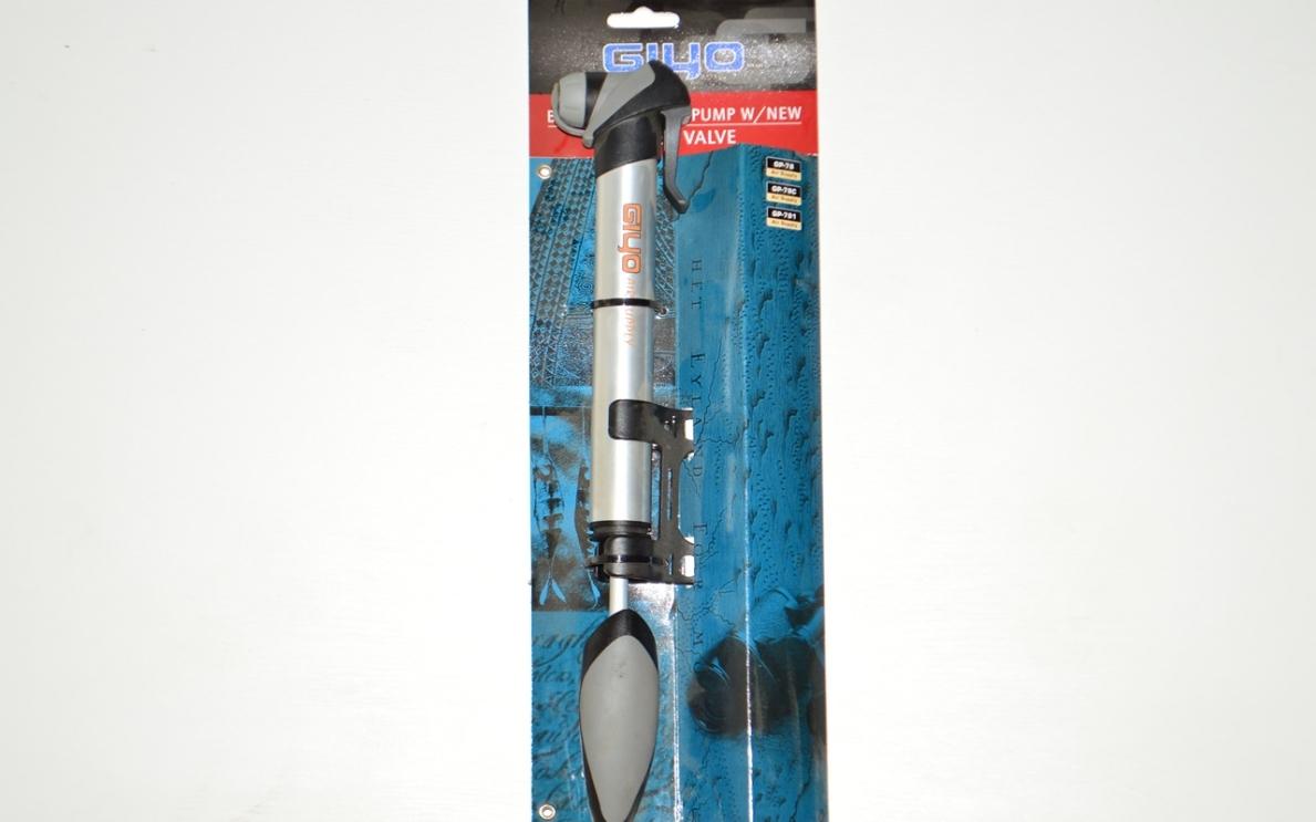 Насос ручной телескопический GIYO GP-78 хром, код 99516